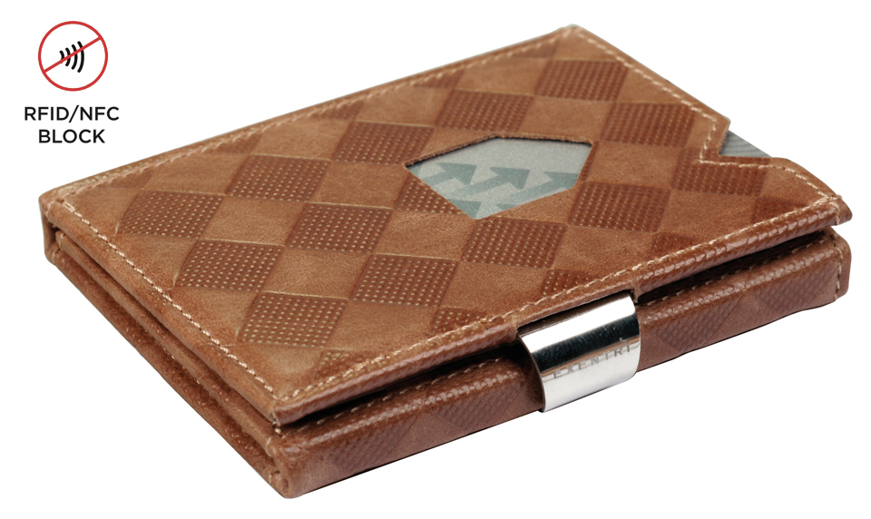 Exentri Wallet RFID Chess Sand
