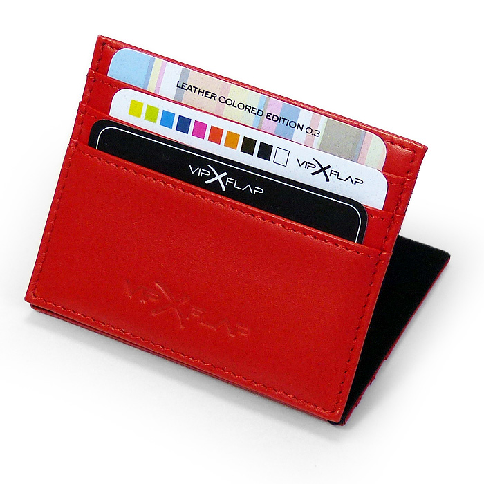 Vip Flap Leather Red