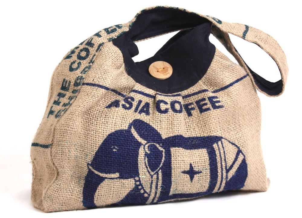 Townshipsmile Organic Coffee Shoulder Bag